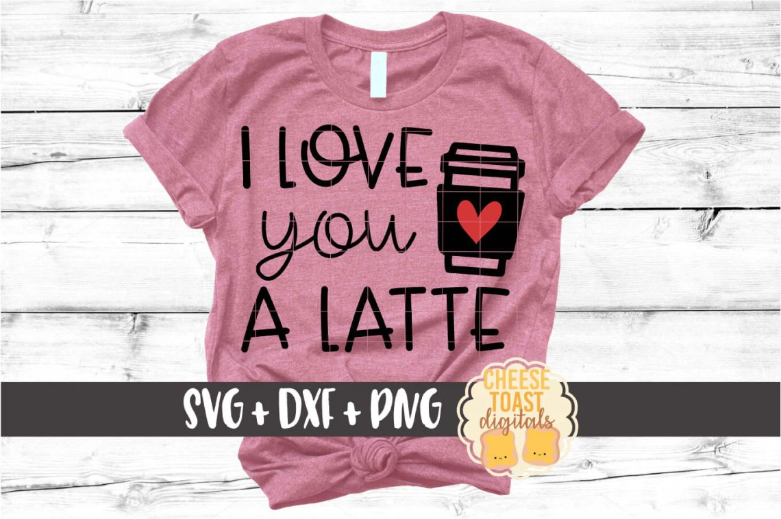 Download I Love You A Latte SVG - Free and Premium SVG Files ...