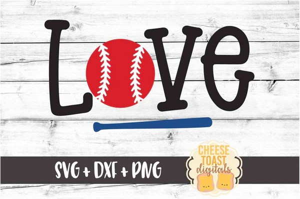 Download Love Baseball SVG - Free and Premium SVG Files - Cheese ...