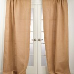 Blaine Burlap Curtain Panels Chic Artique