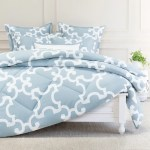 Blue And White Printed Comforter The Noe Blue Comforter Crane Canopy