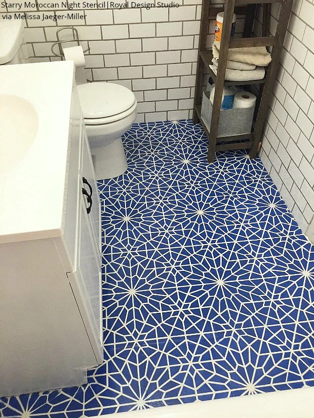bathroom tile floor ste