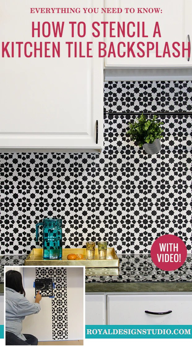 Everything You Need To Know How To Stencil A Kitchen Tile