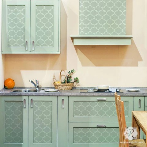 exotic trellis furniture stencils for diy painting royal on kitchen kitchen design ideas inspiration ikea id=85004