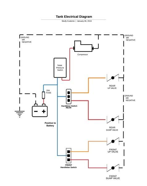 air ride switch wiring diagram  1998 chevrolet cavalier