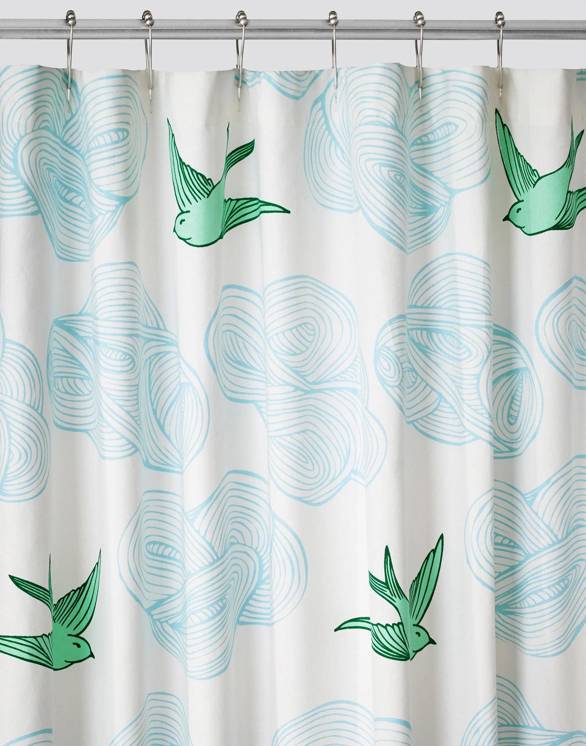 designer shower curtains colors