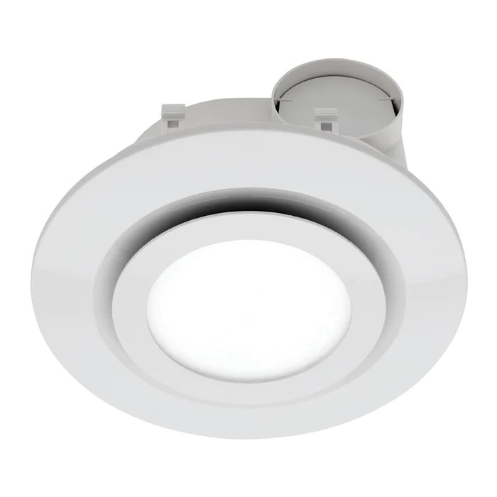 mercator starline round exhaust fan with led light