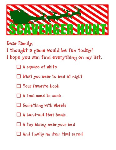 Elf Outfitters PRINTABLES