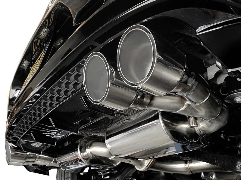 neuspeed stainless steel cat back exhaust