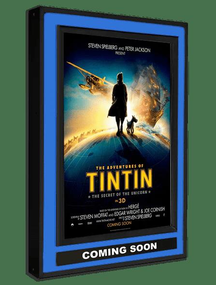 halolite movie poster light box ts 12