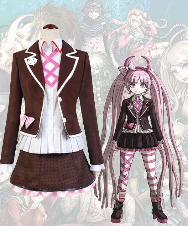 Danganronpa Dangan Ronpa Kotoko Utsugi Cosplay Costume