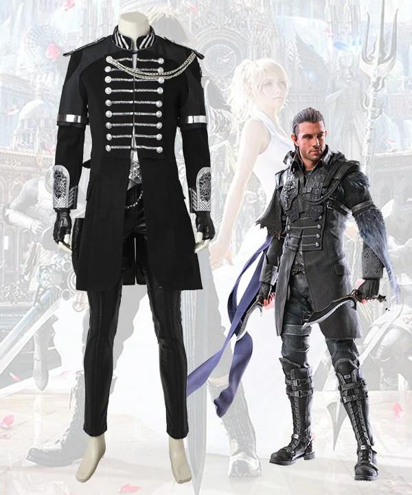 Kingsglaive: Final Fantasy XV FF15 Nyx Ulric Cosplay Costume - No Boots