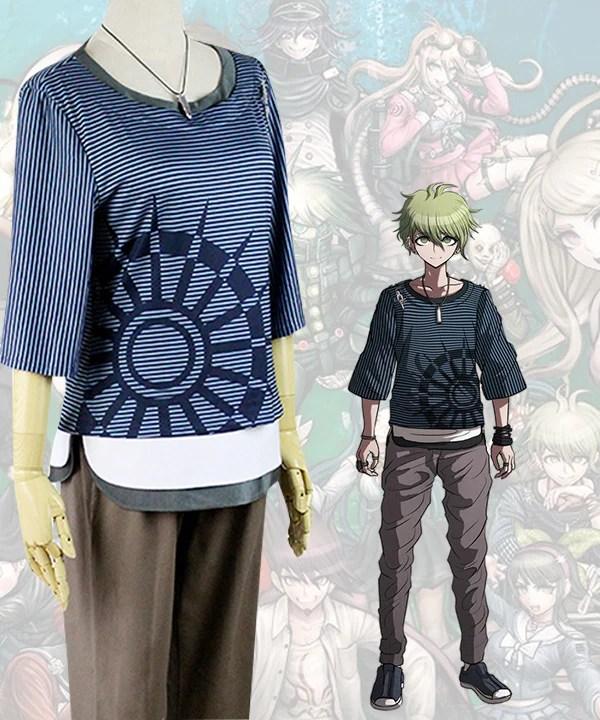 Danganronpa Dangan Ronpa V3: Killing Harmony Rantaro Amami Cosplay Costume