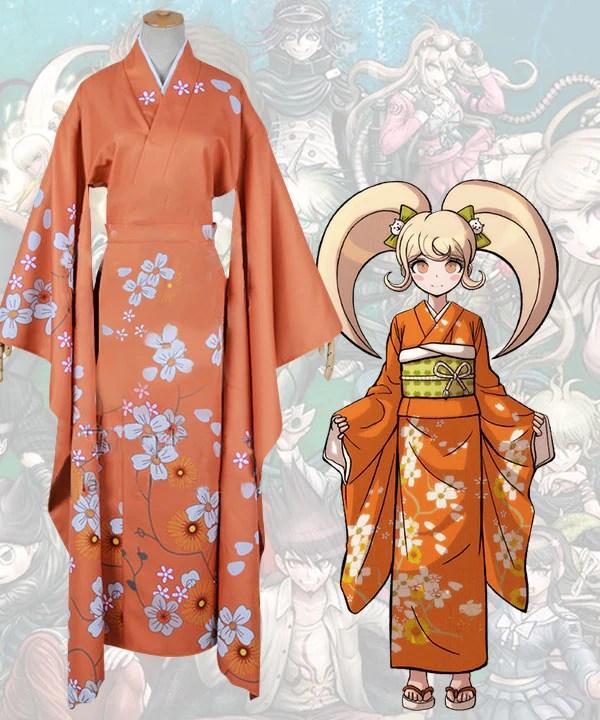 Danganronpa 2: Goodbye Despair Hiyoko Saionji Cosplay Costume
