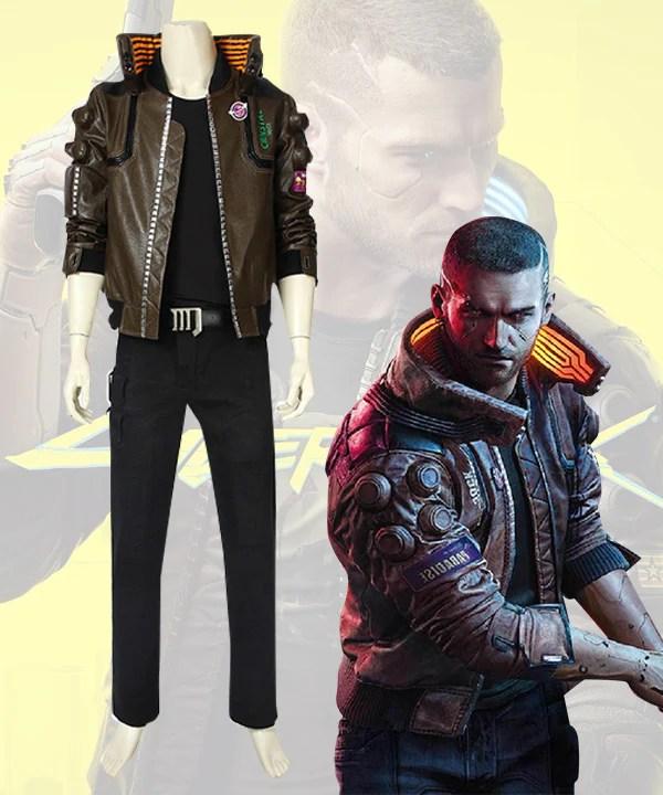 Cyberpunk 2077 Character Male Cosplay Costume