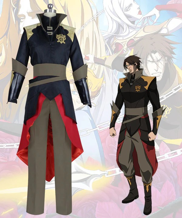 Castlevania Season 3 Netflix 2020 Anime Trevor Belmont Cosplay Costume