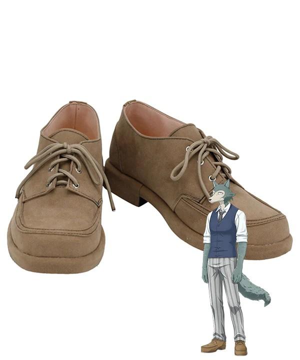 Beastars Legoshi Brown Cosplay Shoes