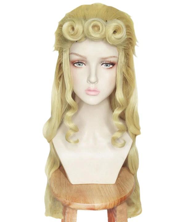 JoJo's Bizarre Adventure Giorno Giovanna Female Golden Cosplay Wig