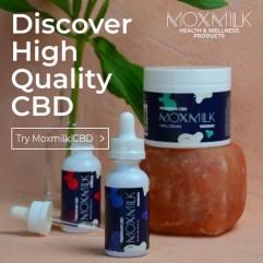 Moxmilk CBD