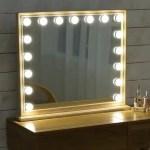 Adley Solid Wood Spotlight Vanity Mirror Urban Mood