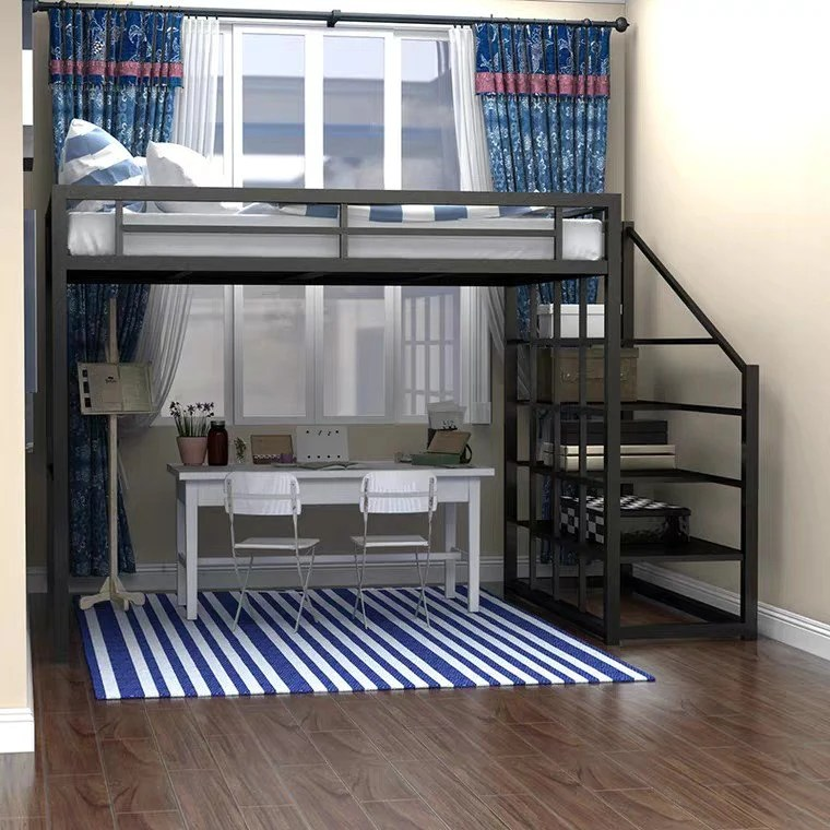 Haven Loft Bed With Study Urban Mood
