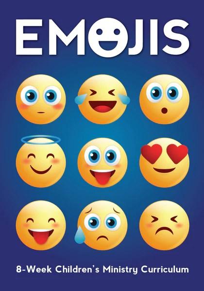 Emojis Childrens Ministry Curriculum Childrens