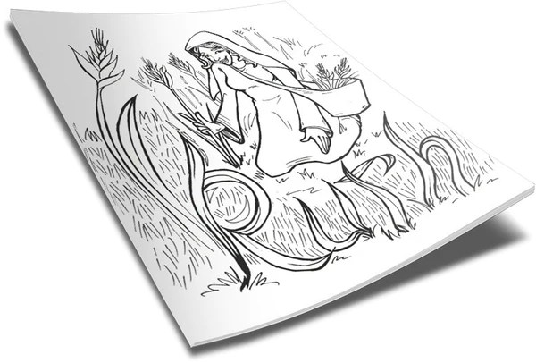 ruth coloring page – children's ministry deals