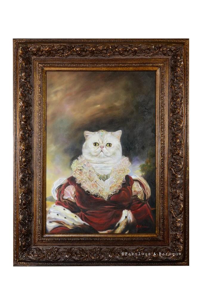 Baroque Portrait Painting Modern Baroque Furniture