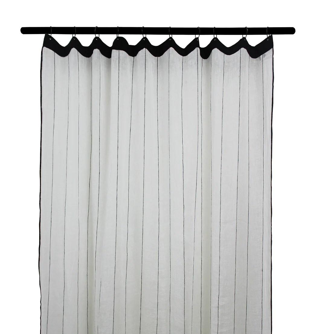 2 colours harmony calvi linen curtain 140x280 cm
