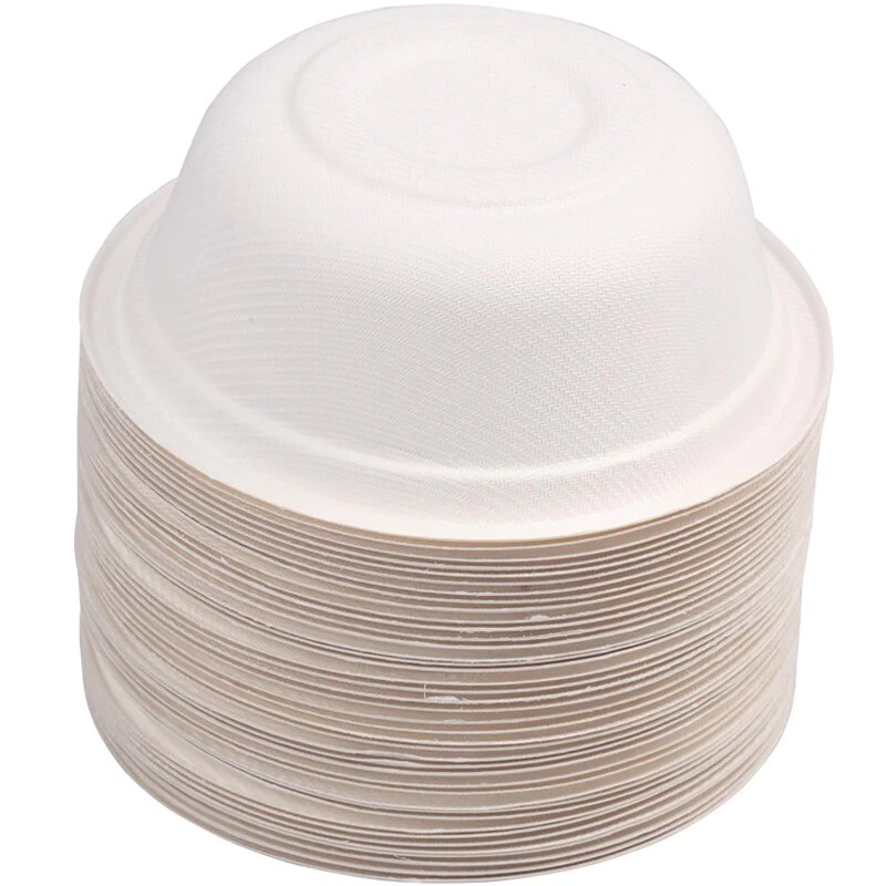 clean energy 350ml disposable paper bowl 40 only can be degraded waterproof and anti oil for microwave oven jn 0204 o135 66