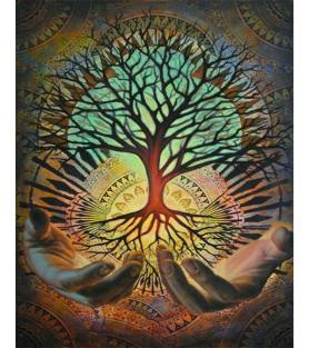 Sacred Tree of Life Paint with Diamonds – Goodnessfind