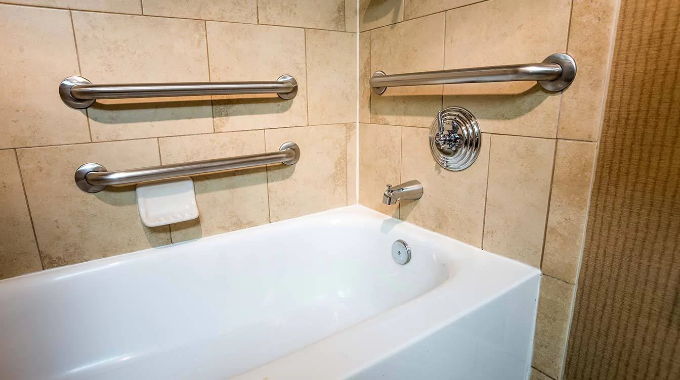 how to install grab bars for showers