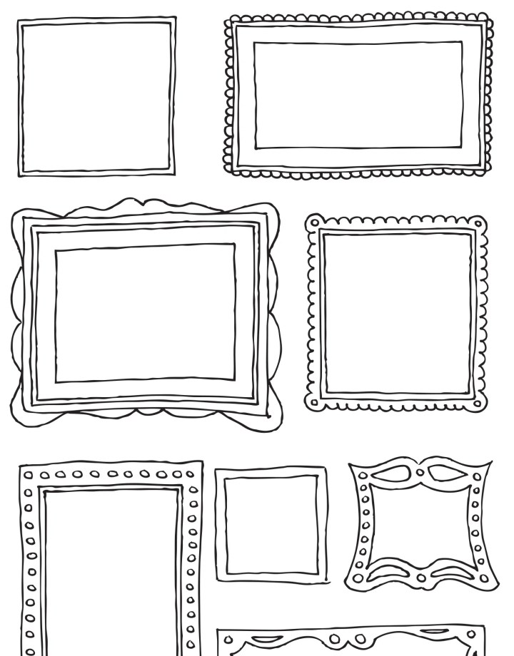Vinyl Sticker Picture Frames | Viewframes.org