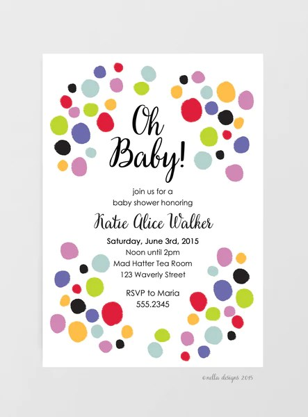 Fill Baby Shower Invitations