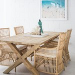 The Dining Room With The Beach Furniture