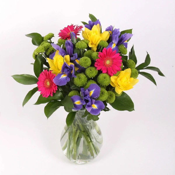 Mixed Spring Bouquet Next Day Delivery By Post PJ Mulley