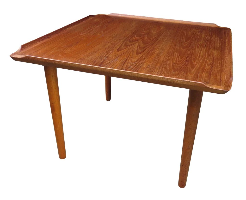 Vintage Mid Century Poul Jensen For Selig Danish Teak Coffee Table Edgebrookhouse