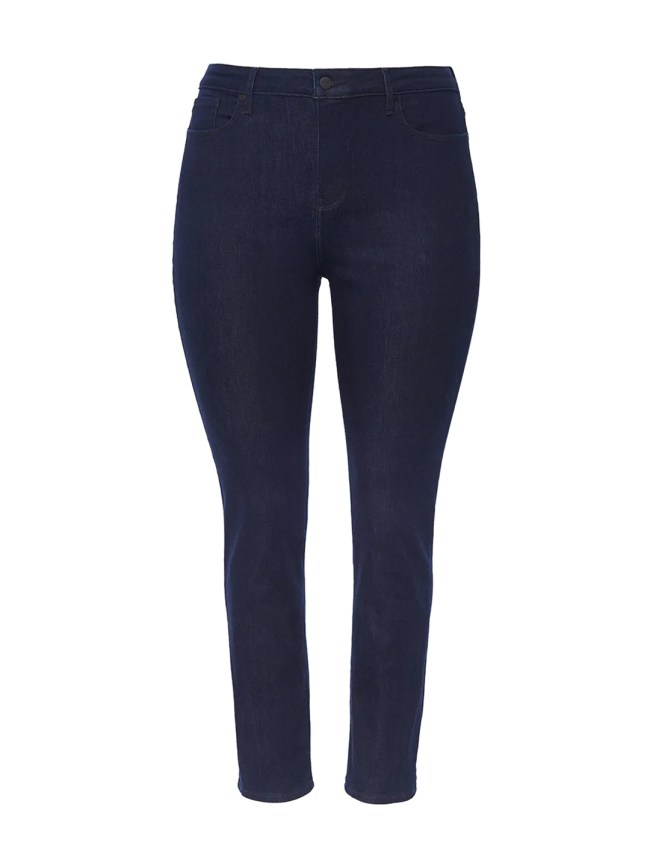 360 Curves Boost Rinse Wash Ankle Straight Jeans