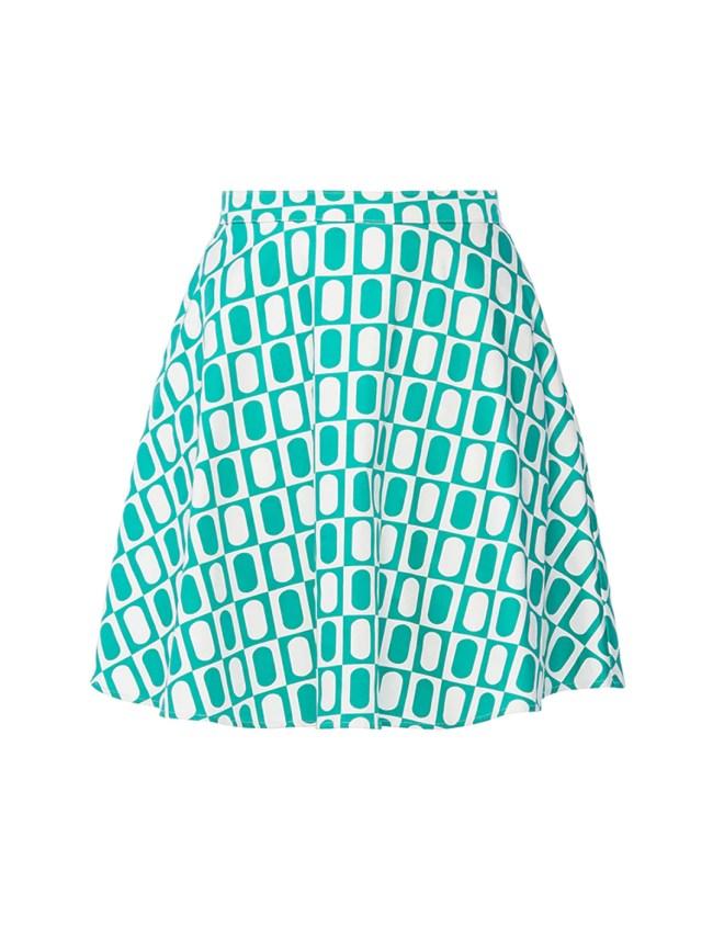 Green Retro Skirt