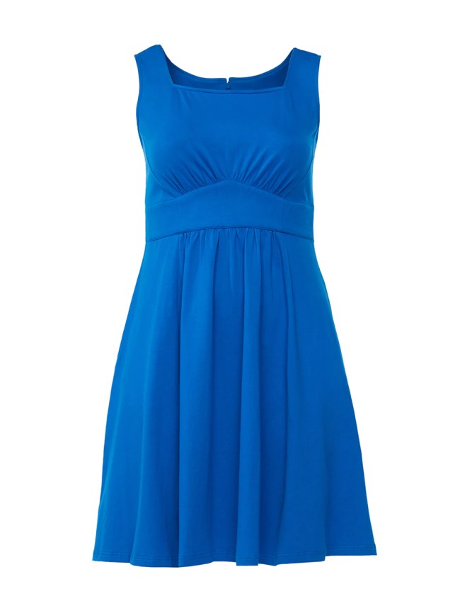 Dresden Blue Empire Waist Dress