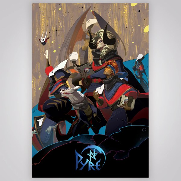 Pyre 24  x 36  Poster   Supergiant Games Pyre 24  x 36  Poster