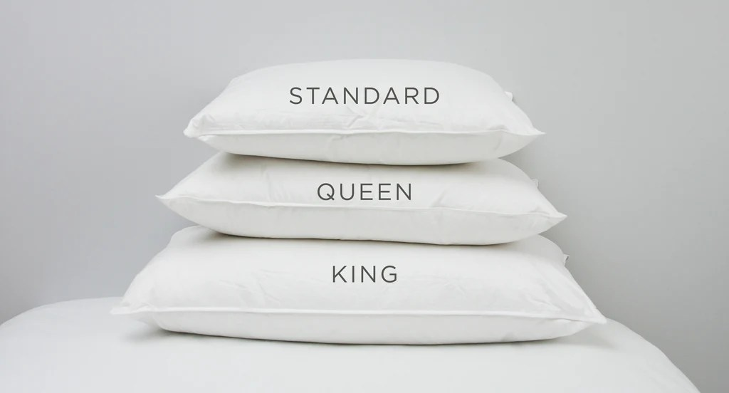 Perfect Pillow Sizes Standard Queen Or King Au Lit Fine Linens