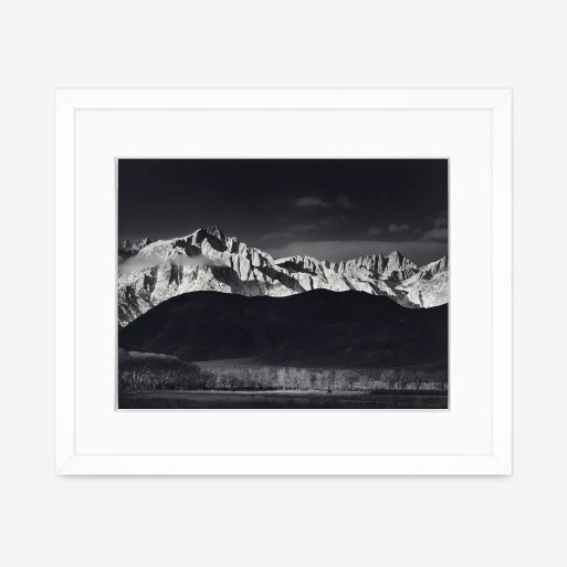 Winter Sunrise, Sierra Nevada
