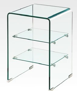 emf m009 all glass side table