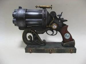 The Liberator Mk. III Style Gun Weapon on Stand Figurine
