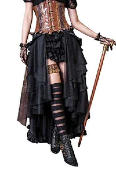 Steampunk Retro Victorian Punk Cincher