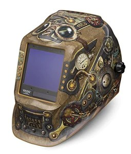 Steampunk Welding Helmet with 4C Lens Technology