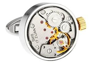 Steampunk Watch Cufflinks