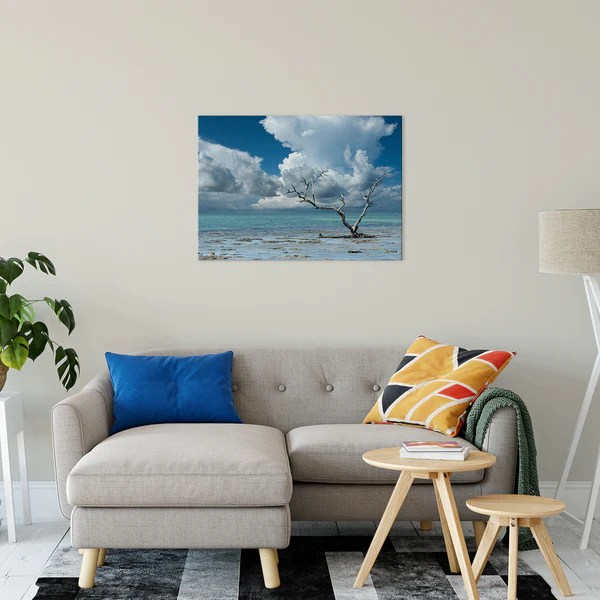 Wanderlust Traditional Color Coastal Landscape Photo Fine Art Canvas Prints - Wall Decor - Artwork - Art
