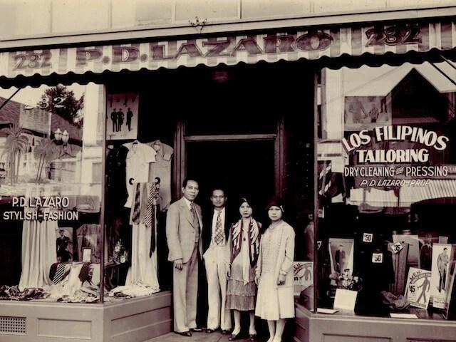 VINTA Gallery - Los Filipinos Tailoring