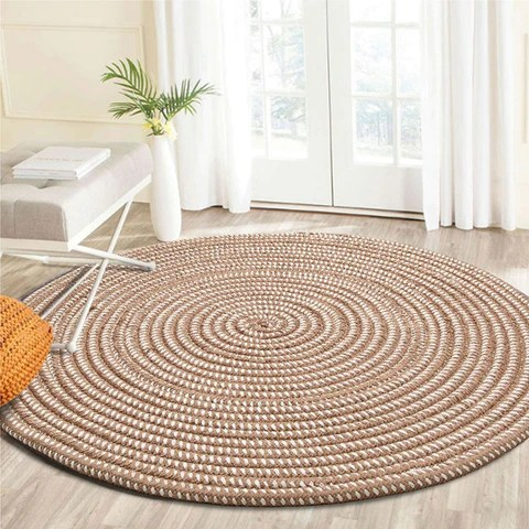 tapis rond joli tapis